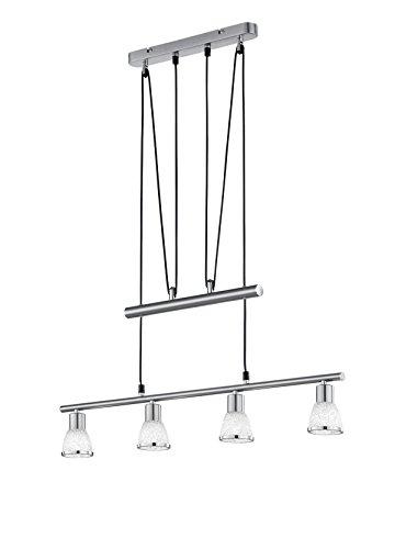 Reality LED Pendellampe Jojo 4x2,5 Watt G9 74,5cm 3000k warmweiß Pau R32761407