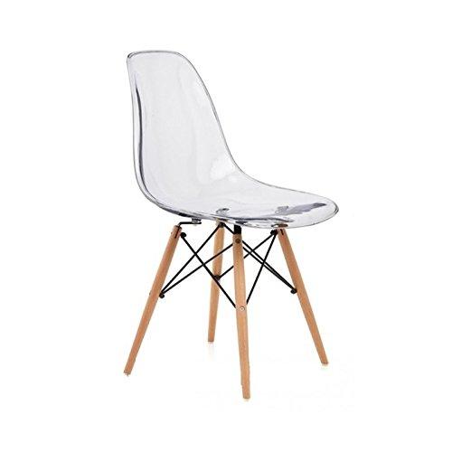 stuhl dsw eames nachbildung polycarbonat retro stuhl
