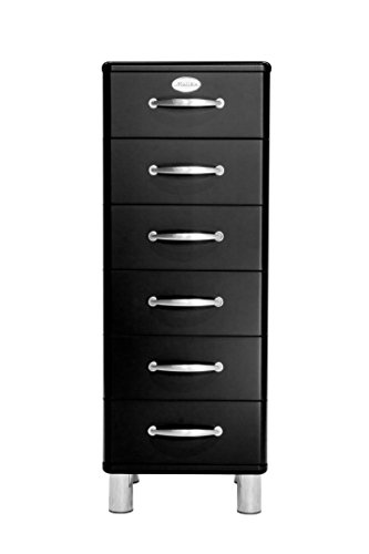 Tenzo 5106-033 Malibu Designer Kommode, MDF lackiert, 111 x 41 x 41 cm, schwarz