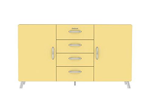 Tenzo Cobra Designer Sideboard, 92 x 163 x 43 cm, MDF lackiert