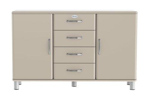 Tenzo Malibu - Designer Sideboard 92 x 146 x 41 cm, MDF lackiert