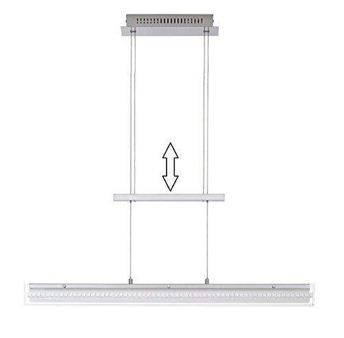Trango® Design LED Pendelleuchte, Esstischleuchte höhenverstellbar