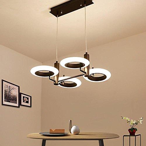 XYDM& Kronleuchter Nordischer Stil Versprechen Dimmen Acryl LED Pendelleuchte zum Schlafzimmer Wohnzimmer Romantisch Dekoration