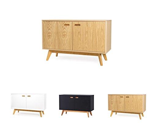 tenzo 2172-554 Bess Designer Sideboard, 72 x 114 x 43 cm, Eiche furniert